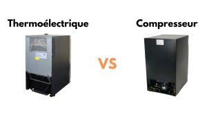 cave a vin thermoelectrique vs compresseur